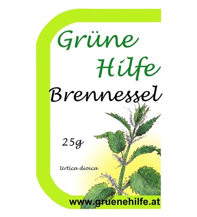 GrüneHilfe Brennessel Bild