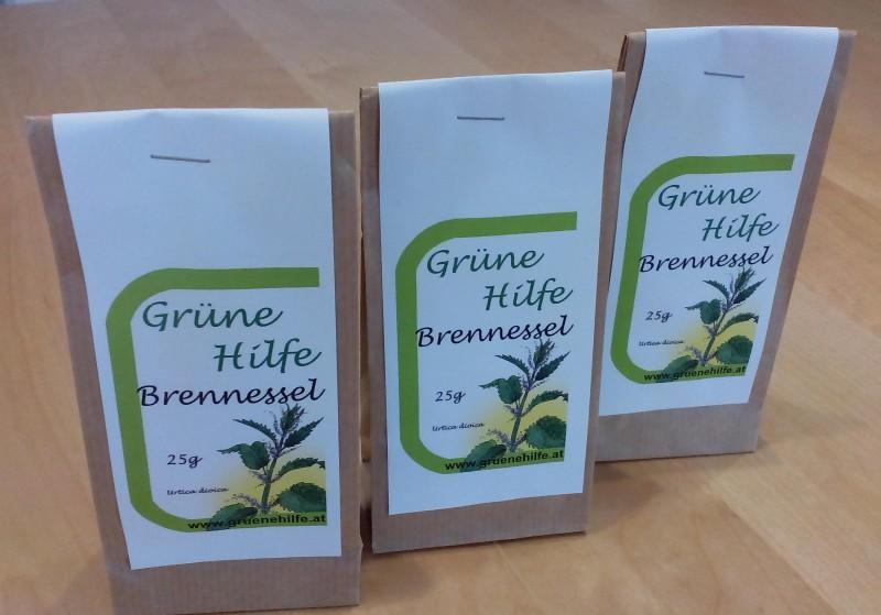 GrüneHilfe Brennnessel 25g Dreierpack
